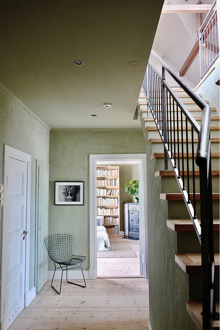 Lekker leilighet med ny og balansert fargepalett