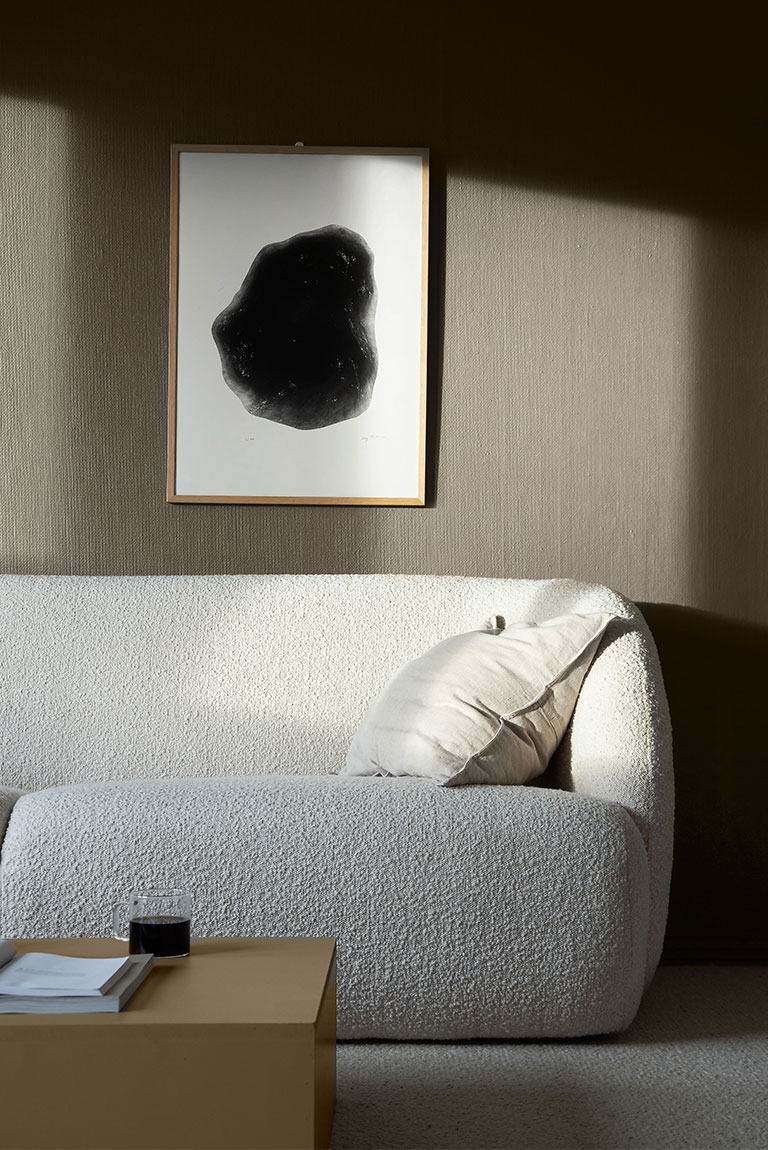 LADY Golden-Bronze-sofabord