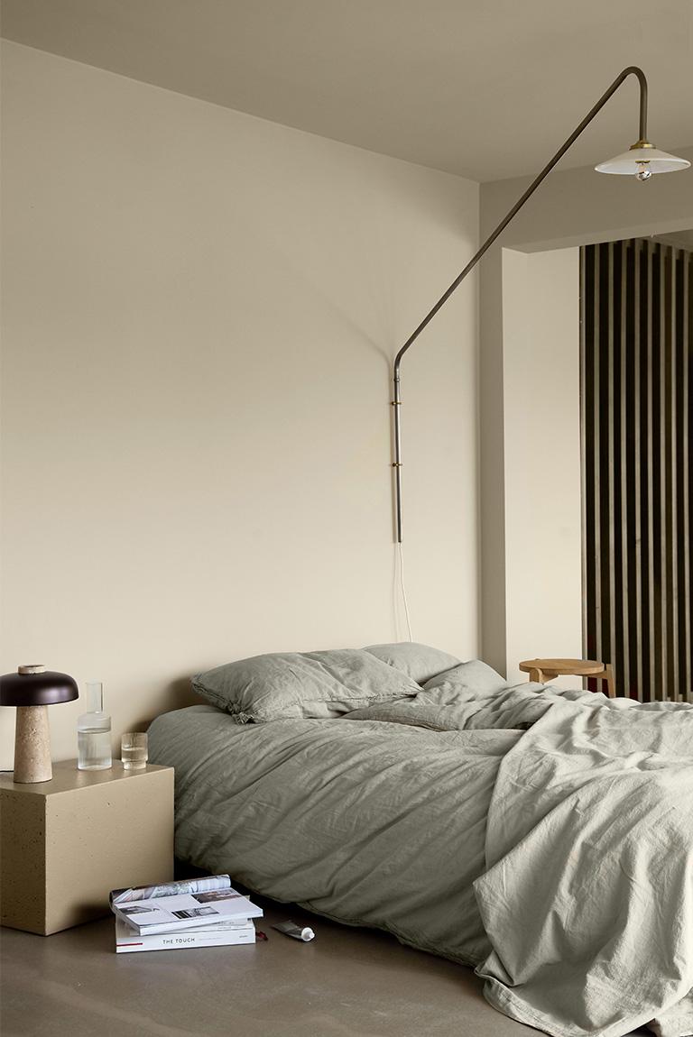 Mal nattbord i betong til soverommet