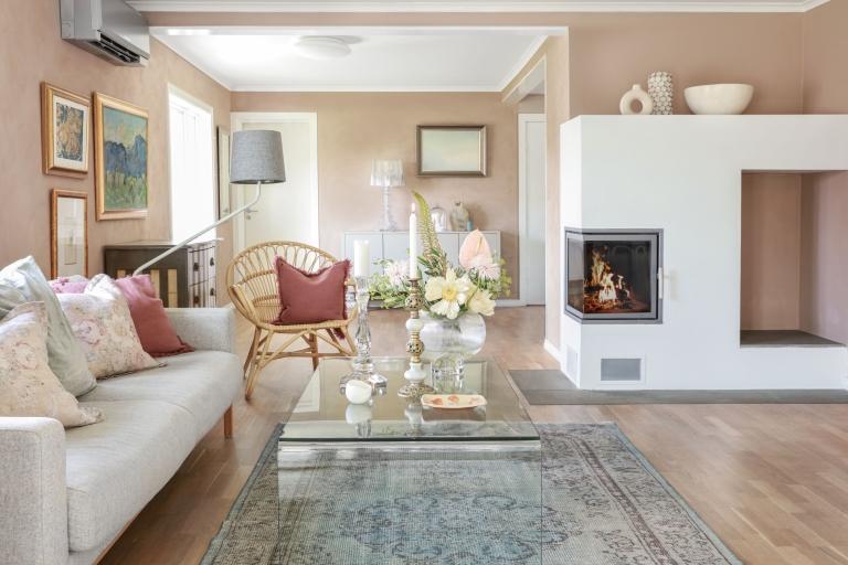Desert Pink – for dempet og gyllen sensommerstemning hjemme